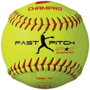 MOX1118397 300x300 - Champro ASA in Fast Pitch Durahide Cover Softball Dozen