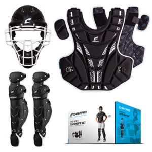 MOX1118410 300x300 - Champro Fastpitch Catchers Kit Ages 8 and Under Black
