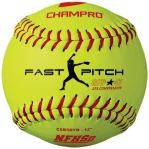 MOX1118444 300x300 - Champro NFHS 12 in Fast Pitch Durahide Cover Softball Dozen