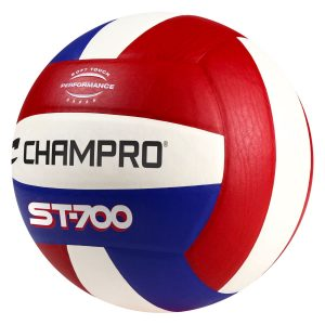 MOX1118728 300x300 - Champro Pro Perform Volleyball Scarlet White Royal Blue