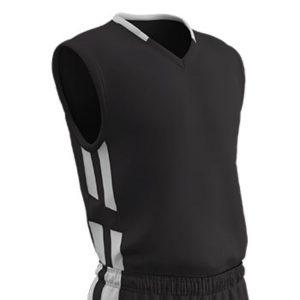MOX1119068 300x300 - Champro Adult Muscle Basketball Jersey White