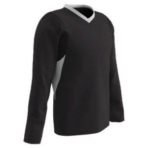 MOX1119194 300x300 - Champro Adult KEY Shooter Basketball Shirt Black White