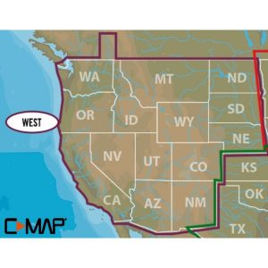 MOX1123379 300x300 - Lowrance C-MAP Lakes West Max-N+