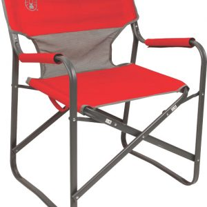 ZA2000019421 300x300 - Coleman Steel Deck Chair Red -