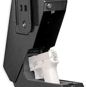 """ZABD4065B 297x300 - Bulldog Biometric Vertical - Pistol Vault 11.5""""x8""""x5.5""""<"""