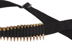 ZAWABR 300x211 - Bulldog Rifle Ammo Belt Holds - 24 Cartridges Adjustable Blk