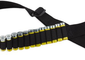 ZAWABS 300x211 - Bulldog Shotgun Ammo Belt - Holds 20 Shells Adjustable Blk