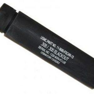 "ZAZ55FAKEAR308 300x300 - Guntec Ar308 Fake Suppressor - 5.5"" 5-8x24 Threads Black"