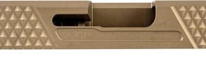 ZAZGGPSPG43V2FDE 300x107 - Grey Ghost Prec Glock 43 Slide - V2 Flat Dark Earth