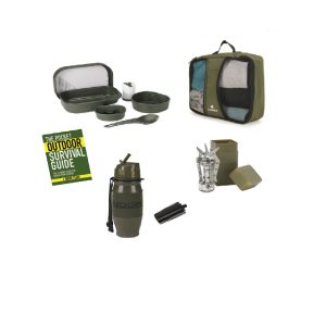 MOX4008281 300x300 - Snugpak Survival 5 Piece Camp Set in Carrying Case- Olive