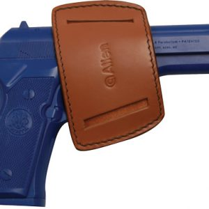 ZA44820A 300x300 - Allen Belt Slide Holster Ambi - Leather Small Frame Autos Brwn