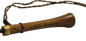 ZAP416 300x145 - Pittman Game Calls Blk Walnut - Trumpet Locator Turkey Call