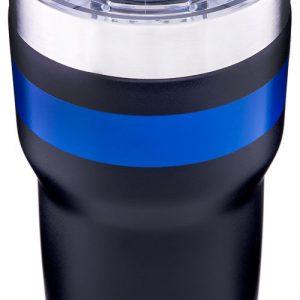 ZATRAVSD22BKBL 300x300 - Pelican Traveler Tumbler W- - Slide Lid 22oz Ss Black-blue<
