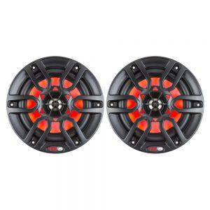 "CW84106 300x300 - DS18 HYDRO 6.5"" 2-Way Marine Speakers w-RBG LED Lights 300W - Matte Black"
