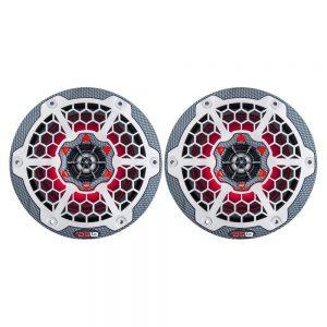 "CW84108 300x300 - DS18 HYDRO 6.5"" 2-Way Marine Speakers w-RGB LED Lights 375W - Black Carbon Fiber"