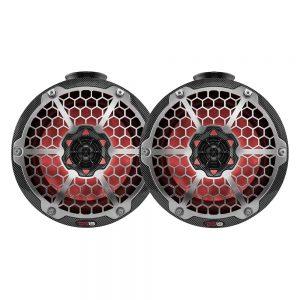 "CW84124 300x300 - DS18 HYDRO 6.5"" Ultra Slim Wakeboard Pod Tower Speaker w-RGB LED Lights - 375W - Black Carbon Fiber"