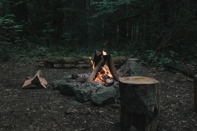 start a campfire
